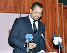 وزير الشؤون الإسلامية والتعليم الأصلي أحمد ولد أهل داوود