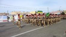 وحدة من الجيش الموريتاني خلال استعراض عسكري في نواذيبو شمالي البلاد نوفمبر 2015 (الأخبار - أرشيف)