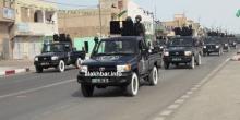 قوة تابعة للدرك الموريتاني أثناء استعراض عسكري سابق (الأخبار - أرشيف)