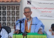 رئيس حزب تكتل القوى الديمقراطية أحمد ولد داداه ـ (الأخبار)