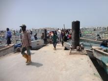 ينشط أغلب الصيادين السنغاليين في موريتانيا في الصيد التقليدي (الأخبار - أرشيف)
