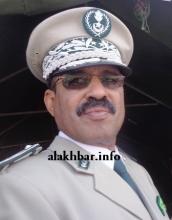 قائد أركان الدرك الجنرال السلطان ولد أسواد (الأخبار - أرشيف)