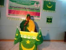 رئيسة قسم المنظمة النسائية في نواذيبو منة بنت مسعود
