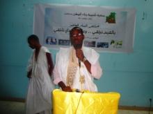 نائب رئيس الجمعية أحمدو ولد أباه أشاد بتجربة فرع نواذيبو واستعرض تجربة الجمعية