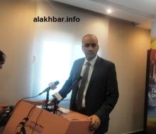 رئيس المنطقة الحرة محمد ولد الداف قال إن شبكة الطرق عرفت نهضة شاملة (تصوير الأخبار)