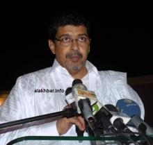 رئيس حزب الاتحاد من أجل الجمهورية سيدي محمد ولد محم (الأخبار - أرشيف)
