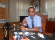 رئيس الاتحادية الموريتانية لكرة القدم أحمدو ولد يحيى ـ (الأخبار)