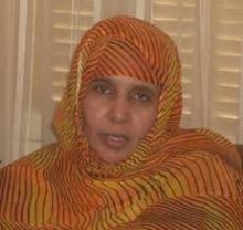 عضو مجلس الشيوخ الموريتاني زينب بنت الدده