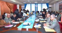 مجلس وزراء مجموعة دول الساحل الخمس خلال اجتماعه الأحد 03 فبراير 2019.