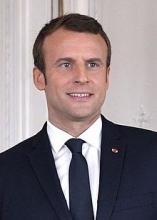 الرئيس الفرنسي إيمانويل ماكرون.