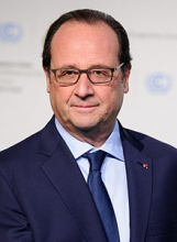 فرانسوا هولاند: الرئيس الفرنسي السابق.