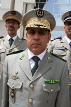 قائد أركان الجيوش الموريتانية الفريق محمد ولد الغزواني
