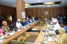 حكومة الوزير الأول المالي عبدولاي مايغا.