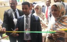 رئيس المجلس الأعلى للشباب يقطع الشريط الرمزي في حفل تدشين مقر المجلس ـ (أرشيف الأخبار)