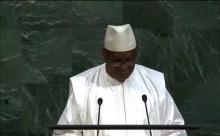 ابراهيم بوبكر كيتا الرئيس المالي، الرئيس الدوري لمجموعة دول الساحل أمام الأمم المتحدة.
