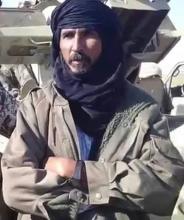 العمار ولد حمادي القائد الميداني التابع للبلات افورم المفرج عنه.