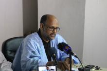 رئيس المركز الموريتاني للدراسات والبحوث الاستراتيجية الأستاذ محمد جميل ولد منصور