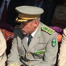 قائد التجمع العام لأمن الطرق اللواء المختار ولد بل ـ (أرشيف الأخبار)