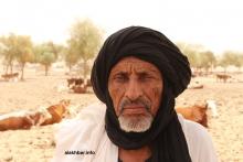 المنمي صالح ولد سيد حمد ولد سيدي خلال حديثه للأخبار