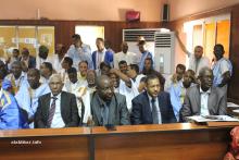 بعض أعضاء المجلس الجهوي للعاصمة نواكشوط (الأخبار)
