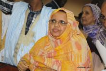 رئيس المجلس الجهوي بنواكشوط فاطمة بنت عبد المالك (الأخبار)
