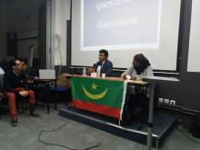منصة النشاط المنظم احتفاء بالذكرى 57 لاستقلال موريتانيا