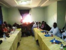جانب من اللقاء الذي جمع المنظمات المدنية والمنتخبين المحليين ـ (تصوير الأخبار)