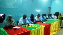 جانب من أول اجتماع للجنة الترشحات للحزب الحاكم / تصوير الأخبار