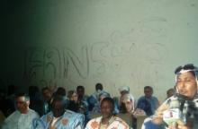 جانب من حفل الإنضمام الرسمي في مدينة نواذيبو / تصوير الأخبار