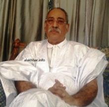 الرئيس الموريتاني الراحل العقيد اعل ولد محمد فال
