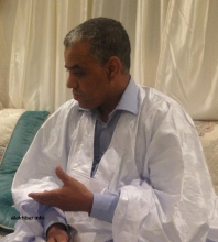 النائب البرلماني والقيادي في الحزب الحاكم محمد ولد ببانا خلال حديثه للأخبار