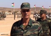 سيدي أوكال، قائد الناحية العسكرية الثانية بجيش البوليساريو ـ (أرشيف الأخبار)