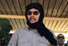 خطري آدوه، رئيس البرلمان الصحراوي ـ (الأخبار)