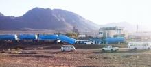 حادث سابق لقطار SNIM في تيرس الزمور ـ (أرشيف)