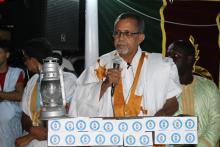 """رئيس حزب """"عادل"""" والوزير الأول السابق يحي ولد أحمد الوقف (الأخبار - أرشيف)"""