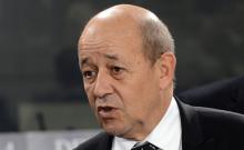 جان إيف لودريان: وزير الشؤون الخارجية الفرنسي