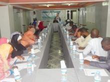 جمعية يدا بيد للثقافة والعمل الاجتماعي خلال أحد النشاطات التي أنعش الداعية الفرنسي الشيخ حسان اقيوسن بنواكشوط.