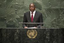 مانكير نداي: وزير الخارجية السنغالي السابق، المبعوث الأممي إلى وسط إفريقيا.