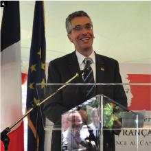 روبير موليي: السفير الفرنسي الجديد بموريتانيا.