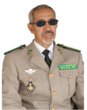 الجنرال حننا ولد سيدي قائد القوة المشتركة لدول الساحل الخمس.