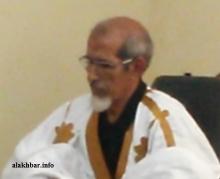 محمد سيد أحمد ولد الغزواني عضو مجلس الشيوخ عن مقاطعة بومديد ـ (الأخبار)