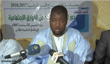 الأمين العام لجمعية النور محمد الأمين ولد علي ـ (الأخبار)