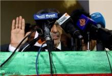 ولد بلال أثناء تأديته اليمين الدستورية ـ (الأخبار)