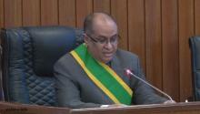 رئيس مجلس الشيوخ محمد الحسن ولد الحاج ـ (الأخبار)