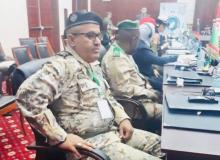 القائد المساعد الجديد لكتيبة الأمن الرئاسي الرائد يحيى أحمدو طلحة