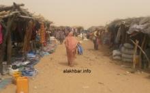 سوق الأربعاء الأسبوعي في معبر كوكي الزمال الحدودي مع جمهورية مالي ـ (أرشيف الأخبار)
