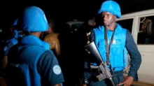 اثنان من أصحاب القبعات الزرق ضمن القوات الأممية في الشمال المالي.