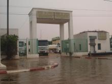 مياه الأمطار تحاصر المقر المركزي للمكتب الوطني للصرف الصحي بنواكشوط في 26 أغسطس 2017 ـ (أرشيف الأخبار)