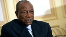 الرئيس الغيني ألفا كوندي.