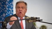 أنتونيو غوتيريش الأمين العام للأمم المتحدة.